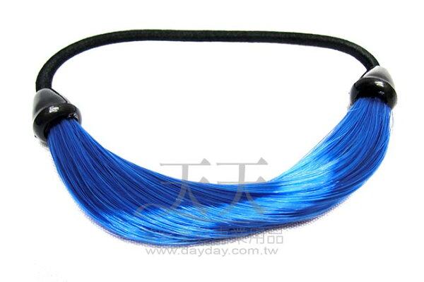 完美 馬尾巴造型髮束 (寶藍) [63184] *新娘秘書/造型假髮* ::WOMAN HOUSE::