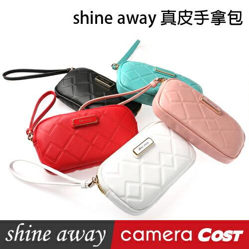shine away 真皮手拿包(5色可選)  TR70相機包 真皮手拿包 手機套 手機包 TR60 TR50 0