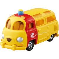 小熊維尼周邊商品推薦【真愛日本】15080700003TOMY車-維尼麵包車  迪士尼 小熊維尼 POOH 維尼熊  玩具車  收藏  擺飾