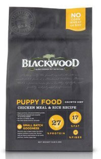 WDJ Blackwood 柏萊富天然寵糧 特調幼犬成長配方^(雞肉 糙米^) 1LB 1