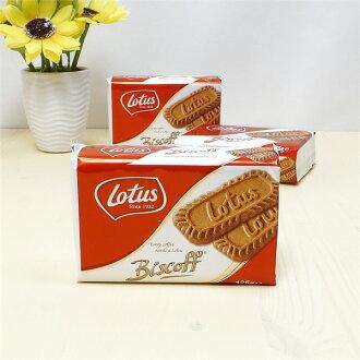 有樂町進口食品 Lotus 比利時蓮花脆餅  3包/組 特價$99元 B19 5410126006049