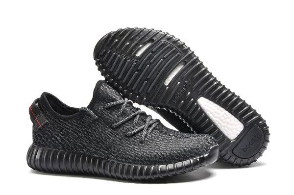 Adidas Originals Yeezy Boost 350系列 情侶運動鞋慢跑鞋(黑色36-45)