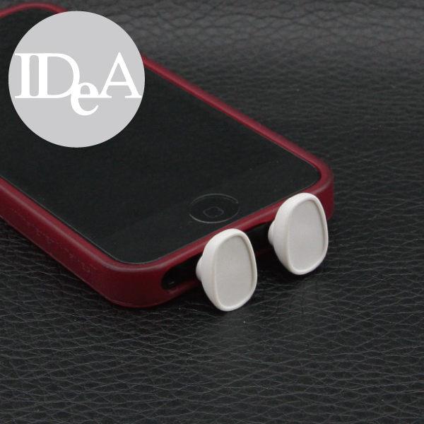 創意小物 Apple iPhone5S/5 小鞋子手機充電孔傳輸孔防塵塞 耳機孔 讓您的手機可直立喔!