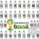 2014年巴西世界杯足球賽紀念版 國家隊 鋁合金運動水壺 水瓶 水杯 500ml 專區 世界盃 FIFA World Cup