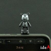 蝙蝠俠與超人周邊商品推薦暴力熊 Gloomy 英雄系列全身版直立式耳機孔防塵塞 耳機塞 iPhone HTC Samsung SONY