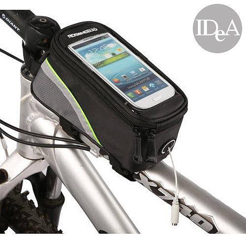 ROSWHEEL 自行車智慧型手機亮彩觸控上管包 前置物袋 手機袋 單車 公路車 4.2吋