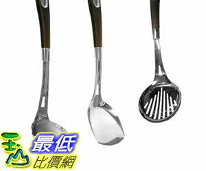 [COSCO代購 如果沒搶到鄭重道歉] Anolon 不鏽鋼烹飪用具3件組 鏟 + 漏勺 + 湯勺 _W109154