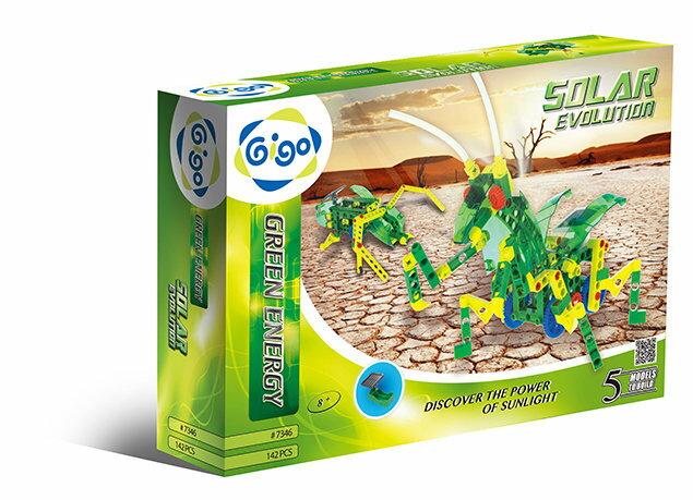 Gigo智高 - 綠色能源系列 - 新太陽能傳動組 #7346 贈Gigo瓢蟲禮盒! 0