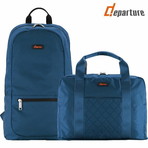 《旅行配件》收納兩件組×四色可選:: departure 旅行趣/FT045+FT083 3
