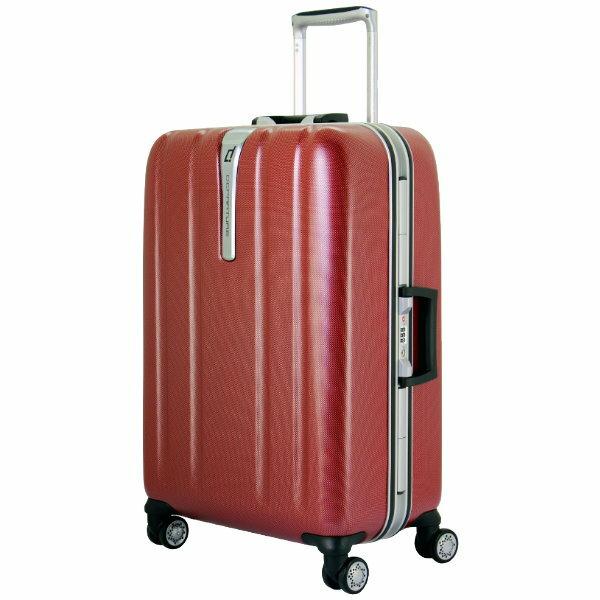departure 行李箱 25吋PC硬殼 鋁框箱 微光霧面-2色任選 1