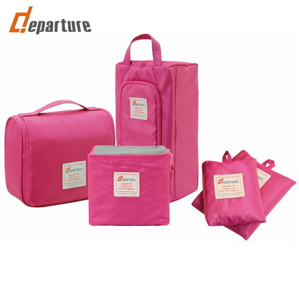 《旅行配件》旅行收納五件套組×二色可選 :: departure 旅行趣/PJ1010-11-12-15 0