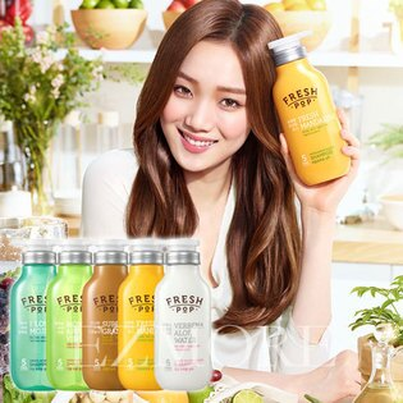 韓國 FRESH POP 果汁洗髮精 500ml 水果洗髮精 李聖經 代言【B062160】