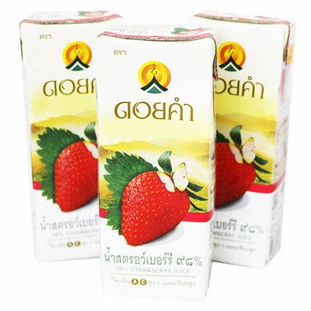 【敵富朗超巿】皇家農場98%鮮果汁-草莓200ml