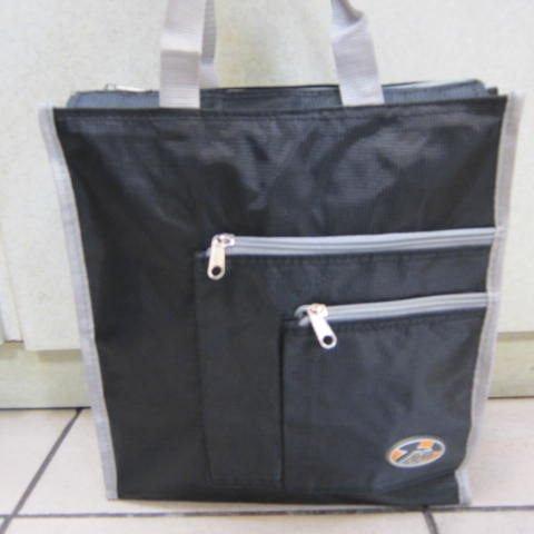 ~雪黛屋~BOLIT 才藝袋 簡單萬用手提袋 學生上學書包以外放置教具用品雨衣雨傘便當袋BL183黑