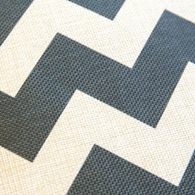 黑色波浪  棉麻材質   45cmX45cm 花色獨特 觸感扎實 2