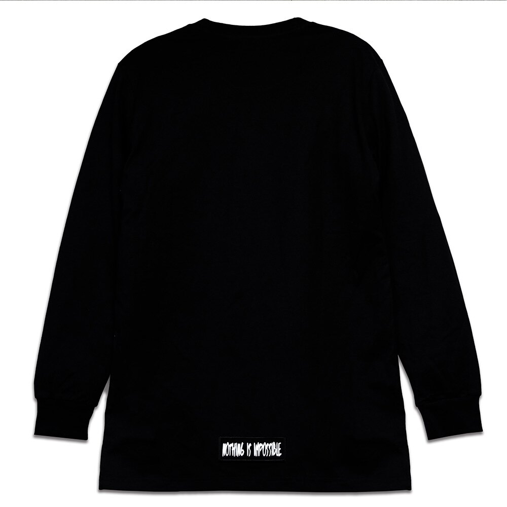 STAGE WHY NOT LONGLINE LS TEE 黑色 / 麻灰色 兩色 4