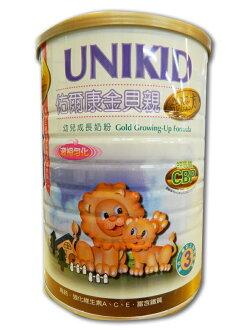 (買6送1)金貝親金配方成長奶粉 900g