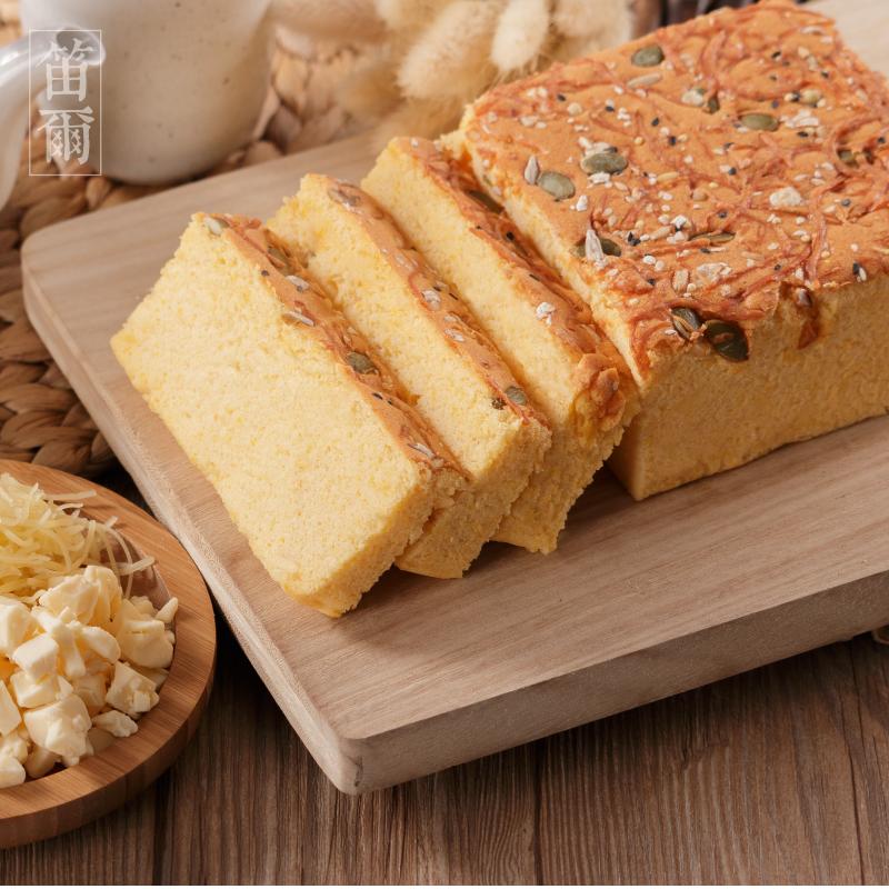 南瓜乳酪蛋糕(600g/盒)-笛爾手作現烤蛋糕 0