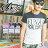 ☆BOY-2☆【NR05072】短袖T恤休閒簡約潮流修身拼接配色素面印花短T 0
