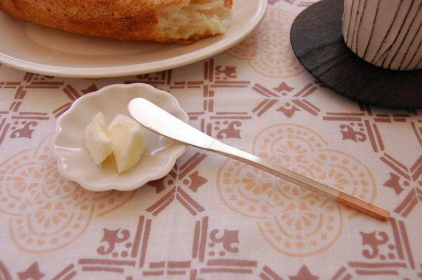 *新品上市*日本製*日本知名 職人手作 工房 AIZAWA* 純銅洋食器 銀仕 141mm 奶油刀-現貨