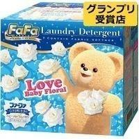 *新品上市*日本製*日本進口 熊寶貝 FAFA 輕巧洗衣粉-嬰兒花香-1kg-現貨