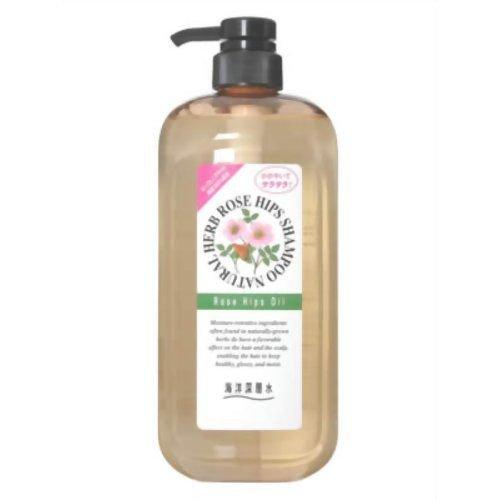 *新品上市*日本 純藥株式會社 海洋深層水 自然草本系列洗髮精-玫瑰花香味-1000g-現貨