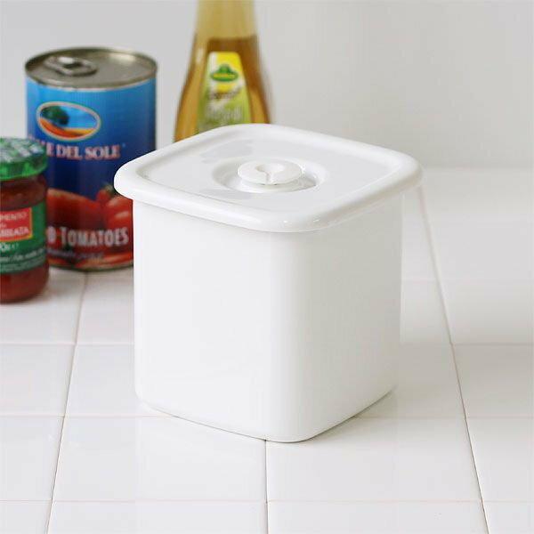 *新品上市*日本製 野田琺瑯 密封蓋 保鮮盒-方型L-共三種尺寸可選擇-WSM-L