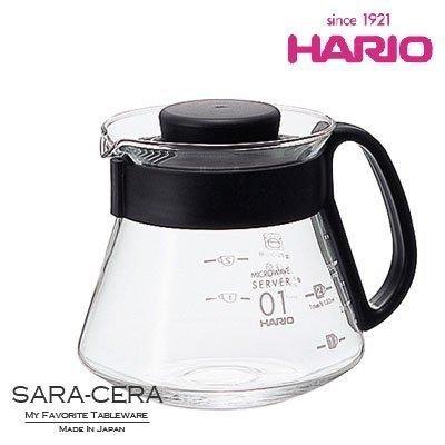 *新品上市*日本知名 HARIO V60 1~3杯用 360ml XVD-36B 耐熱玻璃壺 -現貨