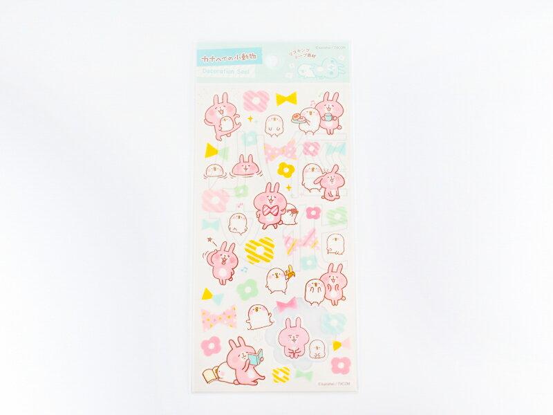~小徑文化~  Kanahei 原創和紙貼紙 ~ 兔兔與P助_MI ^( DM030~28