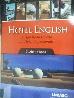 【書寶二手書T1/語言學習_WFS】Hotel English a Hands-On Course for Hotel _附光碟