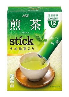 AGF Stick宇治抹茶入煎茶粉12本入 9.6g