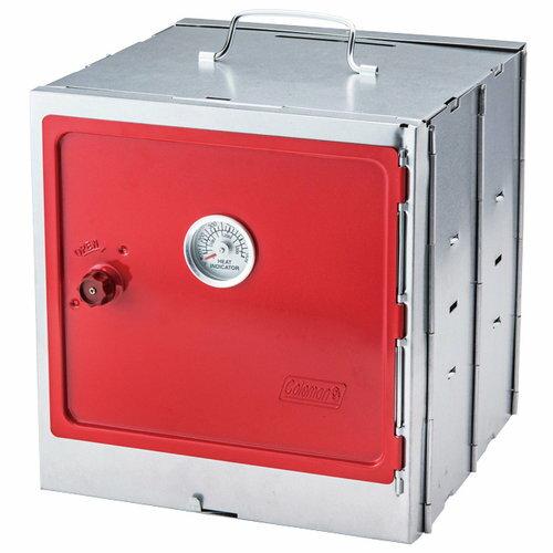【露營趣】中和 Coleman CM-3343J 摺疊烤箱 煙燻烤箱 煙燻桶 烤箱 爐具 炊具