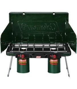 【露營趣】 中和 附卡式瓦斯轉接頭 Coleman CM-6707 瓦斯雙口爐 瓦斯爐 雙口爐 卡式瓦斯爐