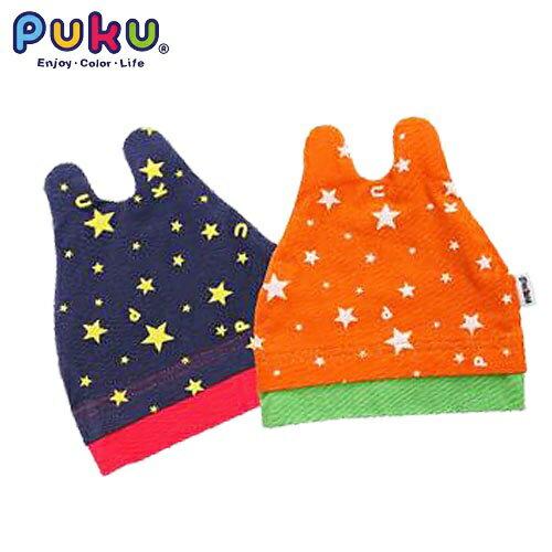 『121婦嬰用品館』PUKU  彈性造型嬰兒帽 - 橘 0