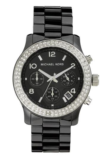 美國Outlet正品代購 MichaelKors MK 陶瓷 水鑽 三環 手錶 腕錶 MK5190 1