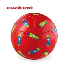 《美國Crocodile Creek》3號兒童運動遊戲足球-火箭