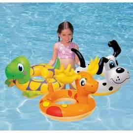 INTEX 30動物造型泳圈58221