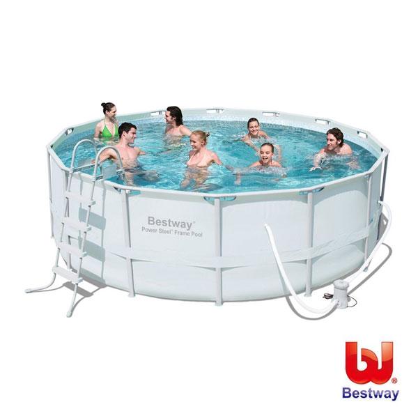 《Bestway》框架式大型泳池附上蓋#56265(69-19967)