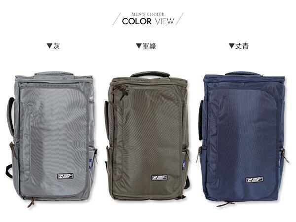 ☆BOY-2☆【NQA5079】簡約機能手提後背包 1