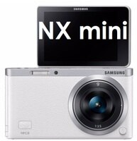 Samsung 三星到【原廠現貨】三星 Samsung NX mini (9-27mm) NXF1 數位相機 NFC WIFI(送16G記憶卡)