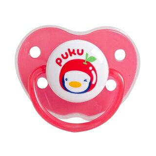 『121婦嬰用品館』PUKU 水果拇指型較大安撫奶嘴(6m+) - 紅 0