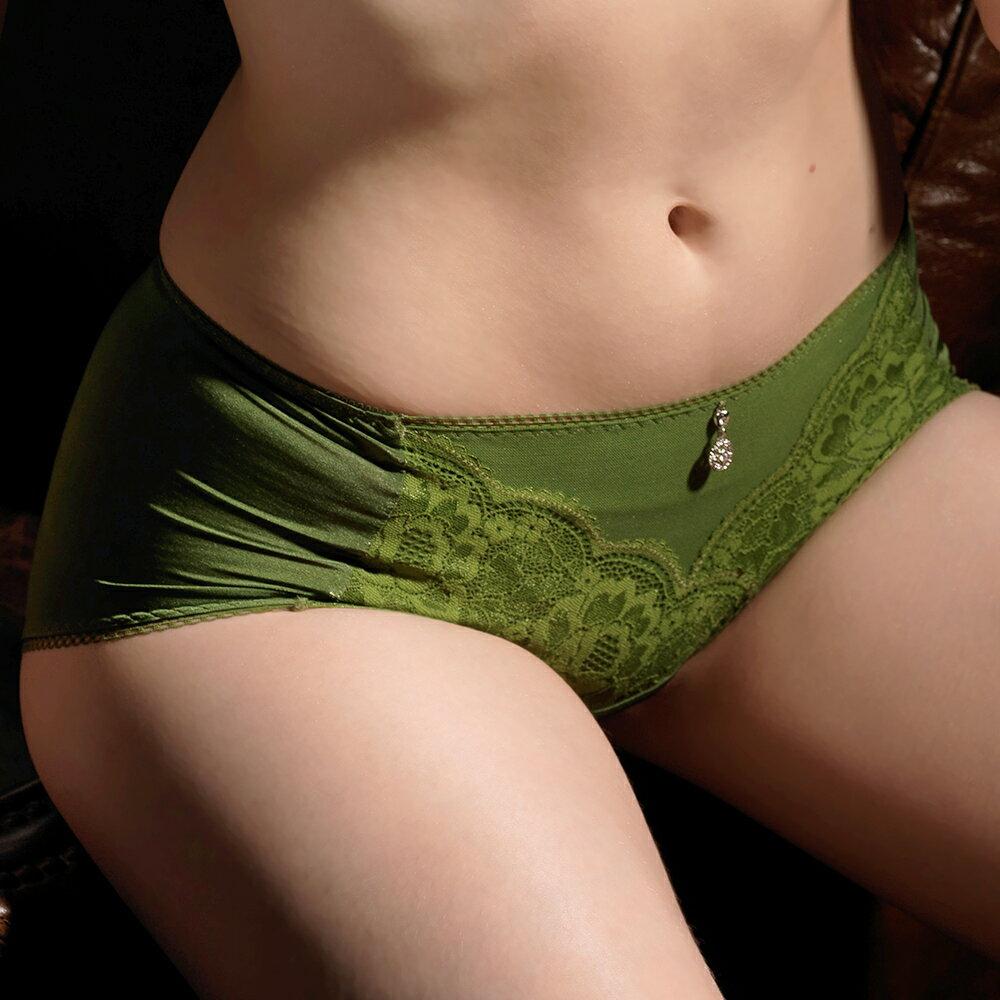 【Favori】魔力 玫情芬芳平口褲 (春芽綠) 1