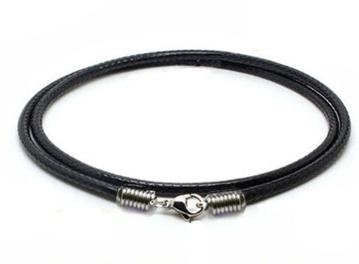 3mm粗皮繩 韓國蜡繩 * 長50公分(20吋) ~ 買五送一