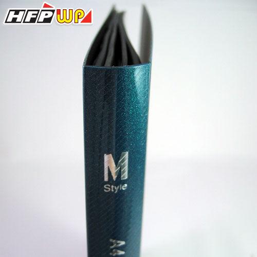【清倉超低價販售】1本只要31元  20頁上穿式透明斜紋資料簿 環保材質 非大陸製 M20 HFPWP