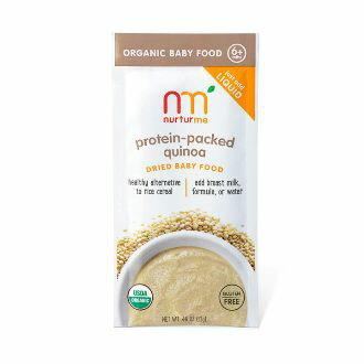 【好優Hoyo】美國原裝 NurturMe 嬰幼兒有機副食品隨身包 - 有機藜麥 1組/3包