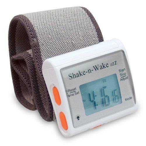 現貨 Shake ''n'' Wake Alarm Clock 隨身腕表型個人震動鬧鐘