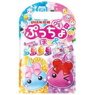 UHA味覺糖臉紅紅蜜桃蘇打造型軟糖(66g)
