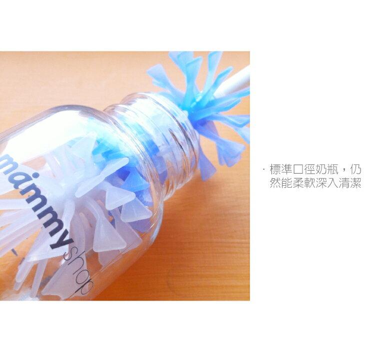 Mammyshop媽咪小站 - 矽膠旋轉奶瓶刷 3