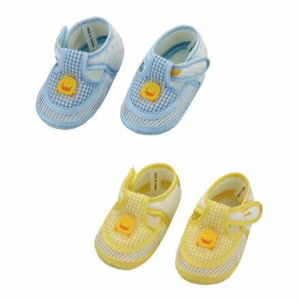 【悅兒樂婦幼用品舘】Piyo 黃色小鴨 網狀嬰兒學步涼鞋