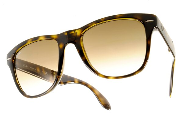 Ray Ban 雷朋 琥珀玳瑁 太陽眼鏡 RB4105 折疊 2